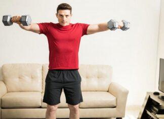 exercitii cu gantere