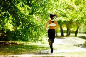 alergatul in parc